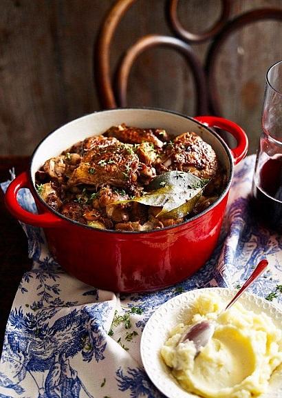 Блюда приготовленные на вине рецепты с фото